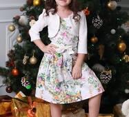 Нарядне дитяче плаття для дівчинки 006