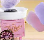Аппарат для приготовления сладкой ваты в домашних условиях Cotton Candy Maker, Каттон Кенди Карнавал
