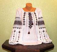 Сорочка-вишиванка жіноча ручної роботи
