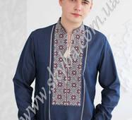 Украинская вышиванка-сорочка мужская СК-1061