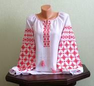 """Вишиванка жіноча """"Чернігівська"""" ручної роботи"""