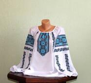 Традиційний одяг україський жіночий, ручна вишивка
