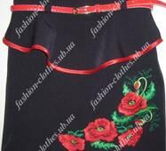 Вышитая юбочка для девочки