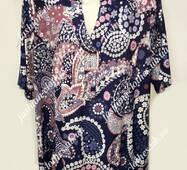 Женская блуза большого размера, 2501