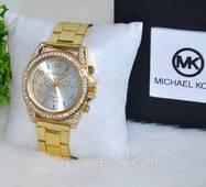 """Наручний годинник """"Майкл Корс"""" із стразами."""