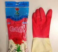 """Купить рабочие резиновые перчатки N-16 """"Роза"""" оптом на 7 км"""