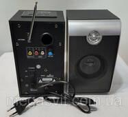 Колонки комп'ютерні Ailiang USBFM - 02