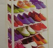 Органайзер для взуття Amazing Shoe Rack на 21 пара (полиця Эмейзинг Шу Річок)