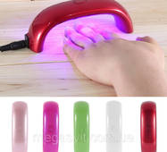 LED лампа з таймером для сушки гель-лака (світлодіодна лампа для сушки нігтів)