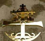 Крест церковный накупольный, купить