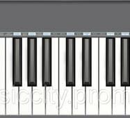 CME M - key grey USB/MIDI ультратонка клавіатура, 49 динамічних клавіш