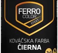 """Фарба """"Chemolak Ferro Color Efekt"""" ковальська чорна 0,75л."""