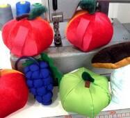 Реквизит: овощи и фрукты
