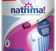 """Акриловая краска  для радиаторов и батарей  """"Natrima"""" 0,6л."""