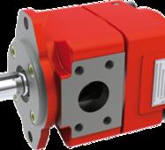 Агрегат з насосом-двигуном внутрішнього зачеплення QXM