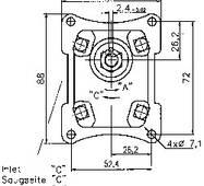 Шестеренні насоси Caproni 175 bar, купити недорого