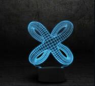 """3D светильник """"Цикличность"""""""