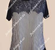 Женская летняя футболка-туника