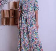 Женское длинное платье 291