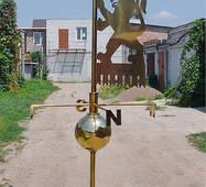 Флюгер из нержавеющей стали 2, купить в Украине