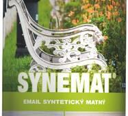 """Краска алкидная """"Synemat"""" матовая белая 0,75л."""