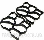 Пластиковая форма для тротуарных дорожек 60х50 см (садовая дорожка)