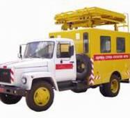 Машина аварійна для ремонту контактних мереж АТ-70М-041 на ГАЗ