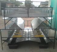 Клітка маткова відгодівельна, острівна, модифікована КМООМ-2, купити в Україні