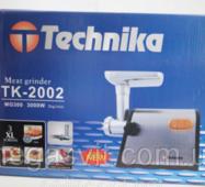 Мясорубка электрическая Technika TK-2002 3000w (мясорубка Техника 3000 вт)