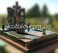 Подвійний пам'ятник з граніту №70, купити в Луцьку