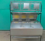 Клітка маткова відгодівельна, пристінна КМОП-3, купити в Харкові
