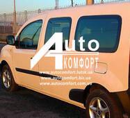 Передній салон (не дверне), ліве вікно, довга база на автомобіль Renault Kangoo 08 - (Рено Кангу)