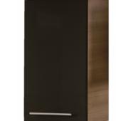 Шкафчик Avon B 45.07 L черный/орех, левый