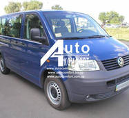 Лобове скло на Volkswagen Transporter Т5 / Фольксваген Транспортер Т5, Caravelle / Каравела Multivan / Мультиван 03 -