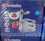 Электро-мясорубка Technika TK-2001 2000w (электрическая мясорубка Техника)
