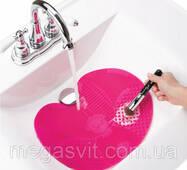 Килимок, що чиститься, для миття пензликів  Spa Brush Cleaning Mat