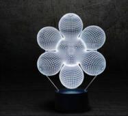 "3D светильник ""Начало"""