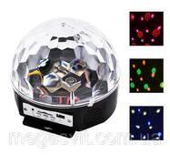 Музичний міні-проектор для вечірок LED Crystal magic ball light