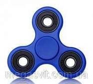 Пластиковый спиннер Антисресс Fidget Spinner (игрушка) синий