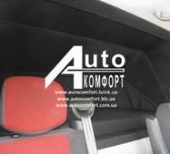 Багатофункціональний спальник - перегородка в мікроавтобус