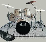 Warwick RB 22200b килимок під барабанну установку, 160см х 220см