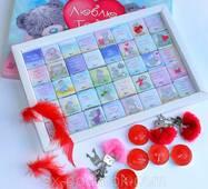 """Шоколадный набор """"Люблю Тебя"""" с подарками."""