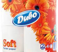 Цсг - туалетная бумага белая двухслойная в рулонах с гильзой Обухов Цсг