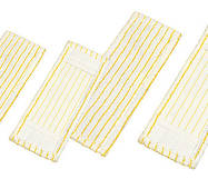 """МОН плоский """"з кишенями"""", для швабри, смугастий, для миття нерівних покриттів  50 см MW.15"""