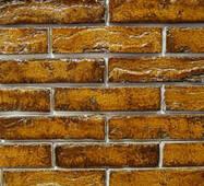 Плитка ручной формовки St.Joris Плитка в глазури рифленая янтарь