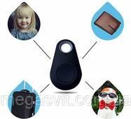 Bluetooth брелок-трекер iTag Black для iOS/Android (пошуковий брелок)