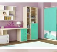 """Модульні меблі у дитячу та підліткову кімнату """"Сіті"""" МДФ"""