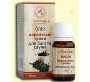 Эфирное масло для бани и сауны Ароматика Карпатские травы, 10 мл