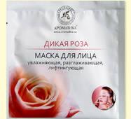 Биоцеллюлозная лифтинг-маска Ароматика Дикая Роза., Вес 35 г.