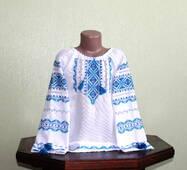 Сорочка вишита ручної роботи для дівчини